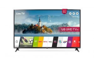 تلویزیون ال ای دی اسمارت هوشمند 43 اینچ ال جی مدل LG 43LJ610V