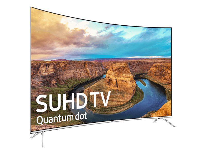 تلویزیون 65 اینچ منحنی و 4k سامسونگ مدل 65KS8500