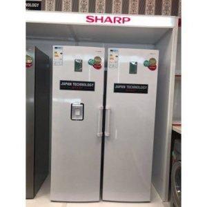 یخچال فریزر دو قلو شارپ مدل SJ-SRD450 وSHARP SJ-SFR400