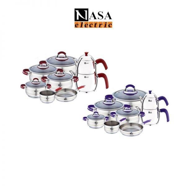 سرویس قابلمه استیل ناسا الکتریک مدل:NS-6050